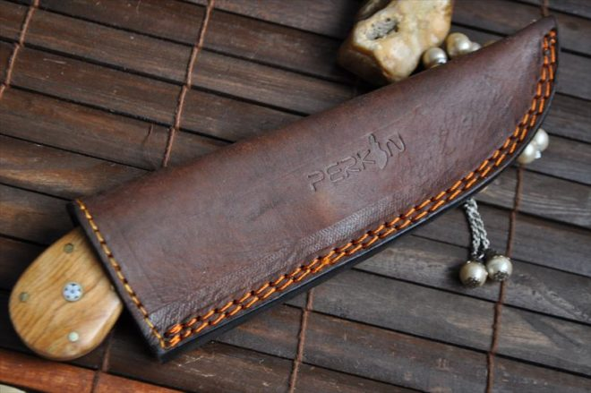Outstanding Value - Handmade Hunting Knife With Leather Sheath