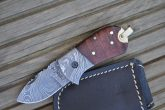 Legal to Carry Handmade Damascus Pocket Knife