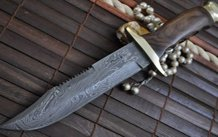 Now Legal To Carry Custom Made Damascus Pocket Knife - By Koobi