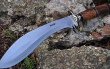 Handcrafted Bushcraft Knife with Camel Bone Handle
