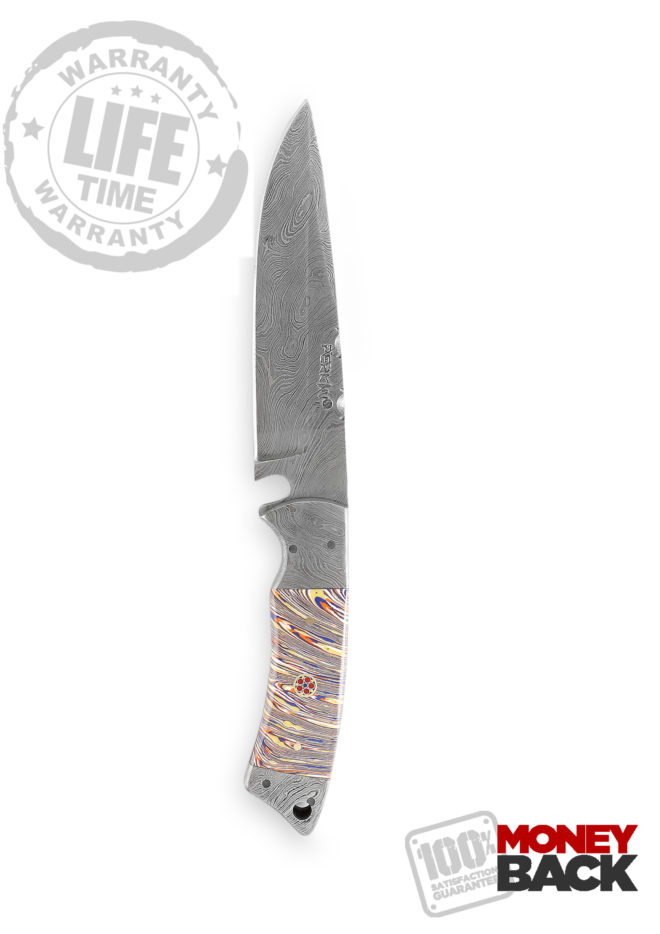 10 Inches Full Tang Fixed Blade Hunting Knife with Sheath