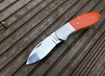 UK Legal Handmade Pocket knife with Micarta Handle