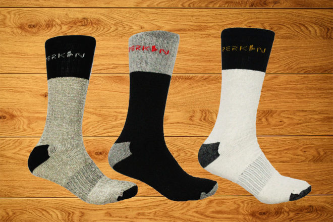 3 Pair of Work Socks Ideal for Camping, Hiking, Outdoor, Trekking & Ski Wear
