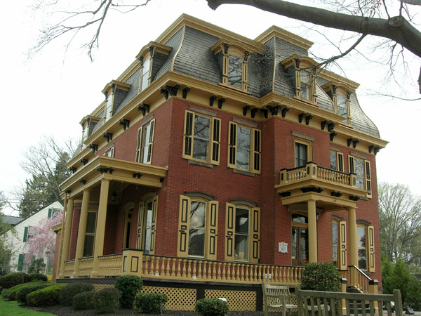 Queen Anne Victorian House Plans