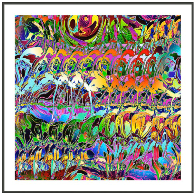 Abstract Layers of Color