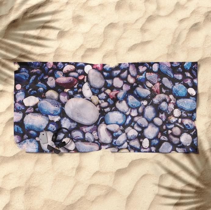 Stones On Beach