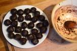 Chocolate brownie cookies