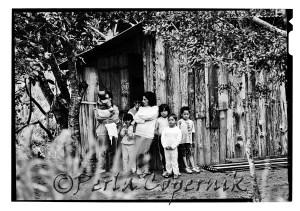 Two families sharing a shaft, Sao Francisco do Sul, Brazil