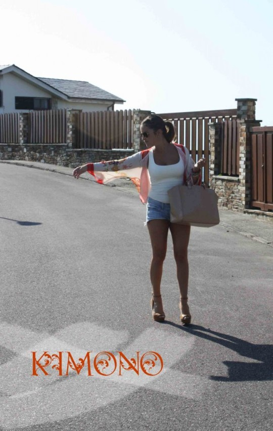 kimono + shorts portada