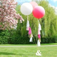 DIY: guirnalda para globos gigantes