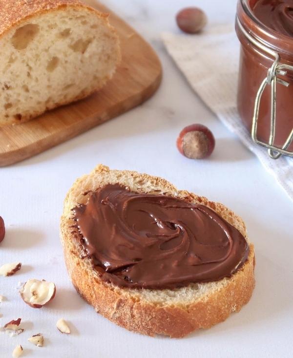 Pâte à tartiner chocolat noisettes {vegan}