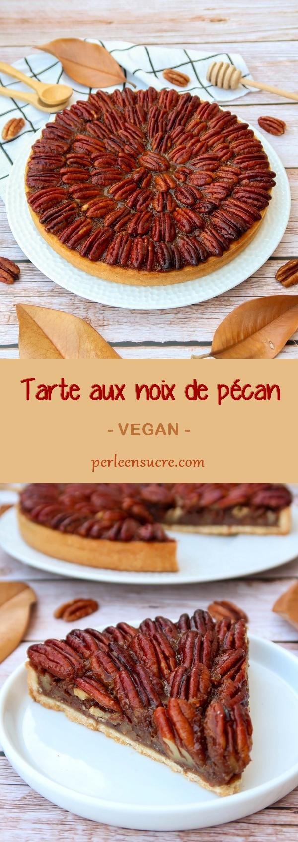 Tarte aux noix de pécan {vegan} - Pinterest