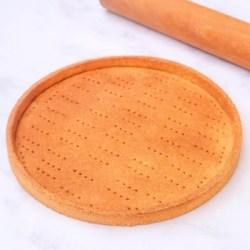 pâte sablée vegan une