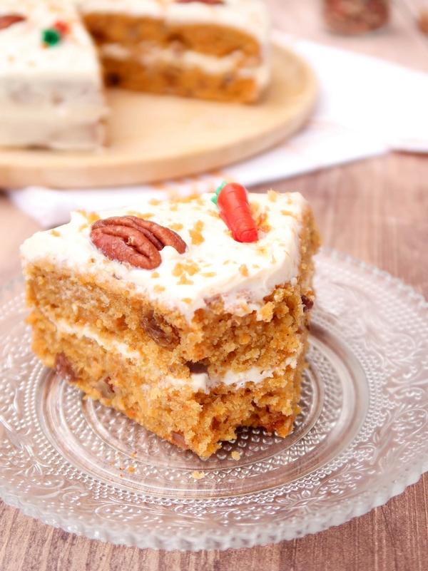 Carrot cake {vegan}