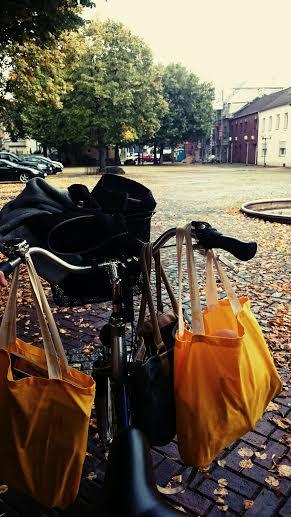 Mit dem Fahrrad zum Trödelmarkt
