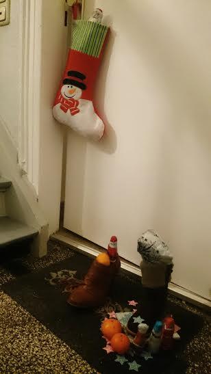 Der Nikolaus war da!!