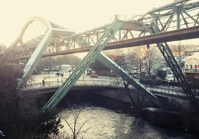 Am frühen Nachmittag ging es dann nach Wuppertal...