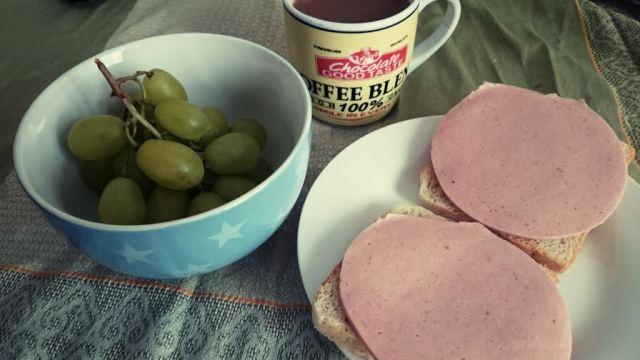 ...und dann gab es ein leckeres kleine Frühstück.