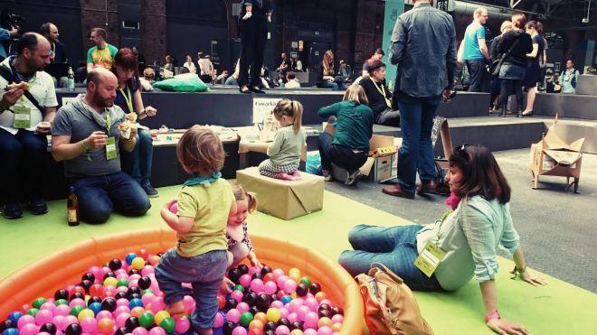 Kinderecke von Coworking Toddler