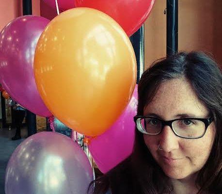 Blogfamilia Ballons Selfie Perlenmama