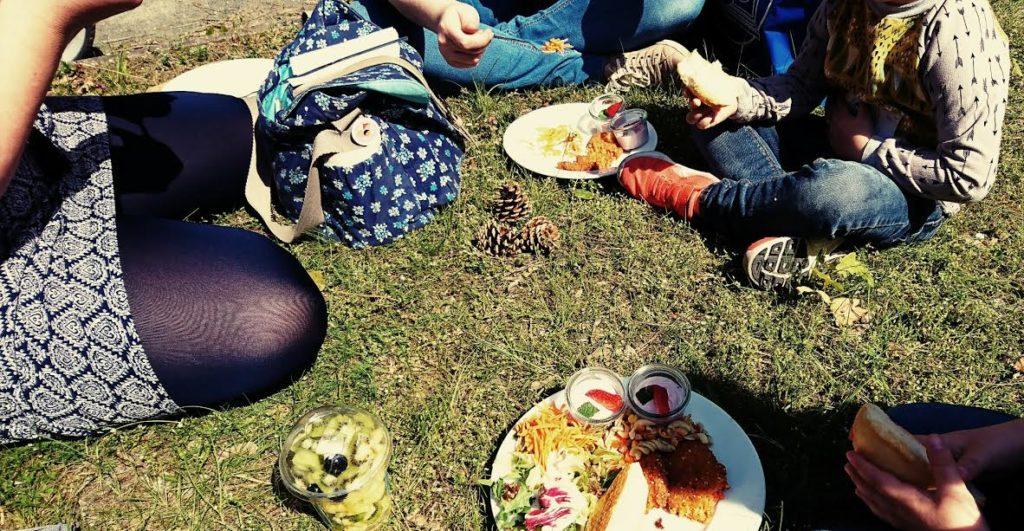 Blogfamilia Mittagessen Picknick