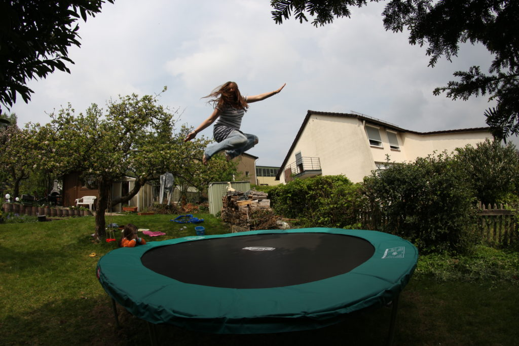 BERG Favorit 330 Trampolin Perlenmama