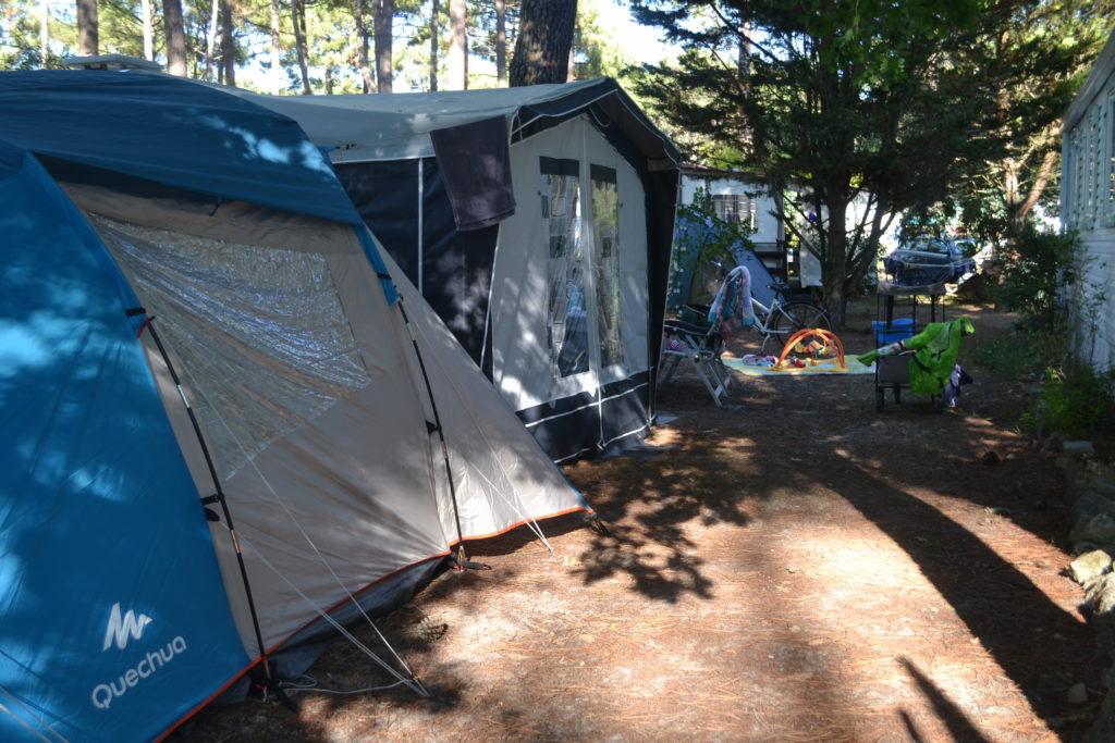 Camping mit Baby, Zelt, Familienzelt, Wohnwagen, Campingplatz, Perlenmama