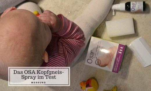 OSA Kopfgneis Spray Perlenmama Produkttest Werbung