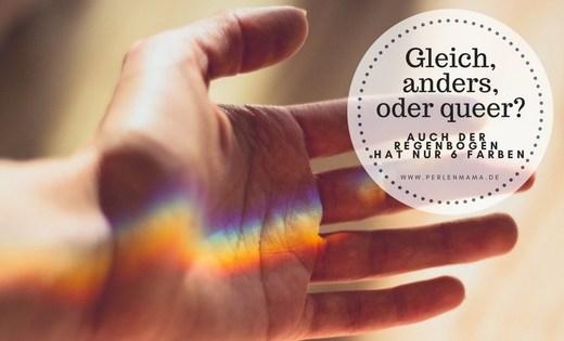 Queer, Regenbogen, Perlenmama, Ehefueralle