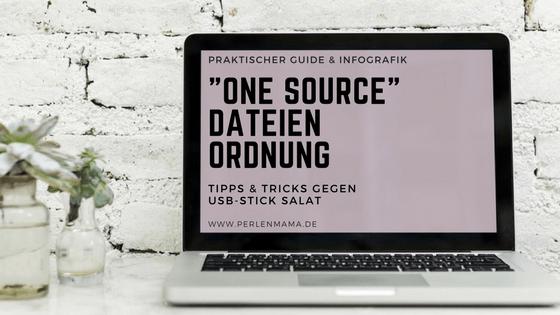 One Source Dateien Ordnung, Perlenmama, Organisation, Aufräumen, Ausmisten