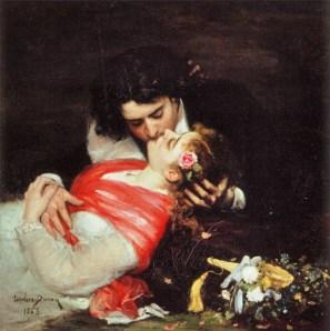 Carolus Duran - Le baiser 1863