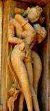Sculpture tantrique - Temple Chitragupta à Khajurâto - Inde (XIe siècle)