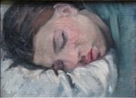 Boris Taslitzky - Jacqueline endormie 1932