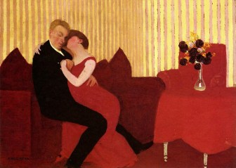 Felix Vallotton - Couple