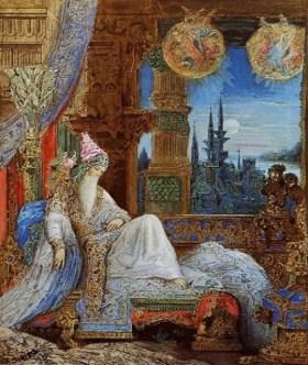 Gustave Moreau - Le rêve hante le Moghol