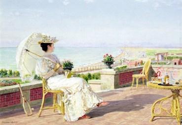 Franois-Marie Firmin-Girard (1838-1921) - En vacances
