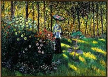 Monet - Femme à l'ombrelle