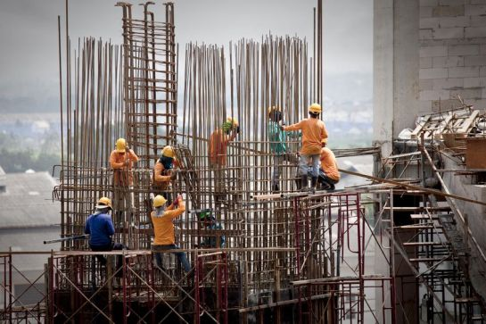 23105170 - construction site workers