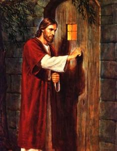 Jezus puka do drzwi naszego serca.