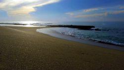 Cudowny piasek plaży na Sri Lance