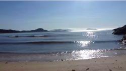 Jak szumi Morze Północne na norweskiej plaży :)
