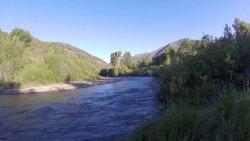 Łagodne słońce i energia górskiej rzeki :)