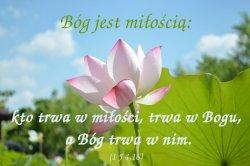 Każdy, kto miłuje, narodził się z Boga i zna Boga
