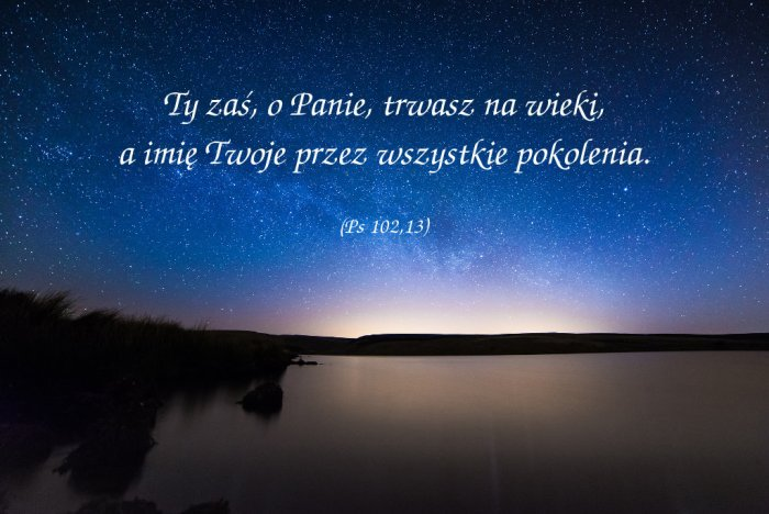 Bóg jest większy od czasu!