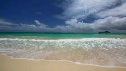 Hawajska Waimanalo Beach :)