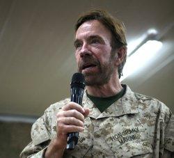 Chucka Norrisa mocne tak dla Jezusa