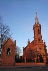Tykadłów. Kościół pw. św. Katarzyny