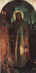 """""""Światłość świata"""" – obraz Williama Holmana Hunta"""
