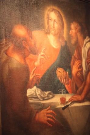 Johann Franz de Backer Wieczerza w Emaus