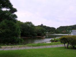 Jokohama- Sankeien Garden,ogród japoński z XIX w.